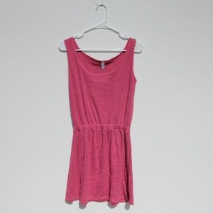 American Apparel Pink Jersey Knit Dress Size Large